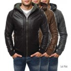 Luk Muk Men´s leather jacket OZ1189