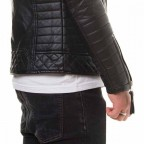 Men's leather jacket  MGP