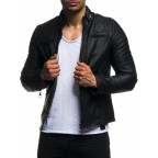 Men leather jacken LM-LN511