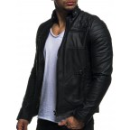 Luk Muk Men leather jacken LM-LN511