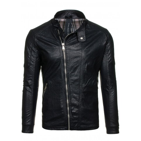 Men leather jacket LM-D003