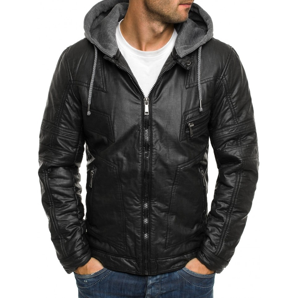 Men leather jacket LM-OZ3102