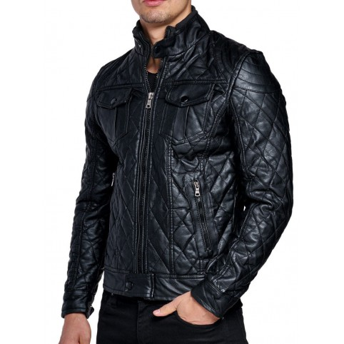 Men´s leather jacket LM-OPT
