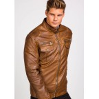 Luk Muk Men´s leather jacket Hack 3395