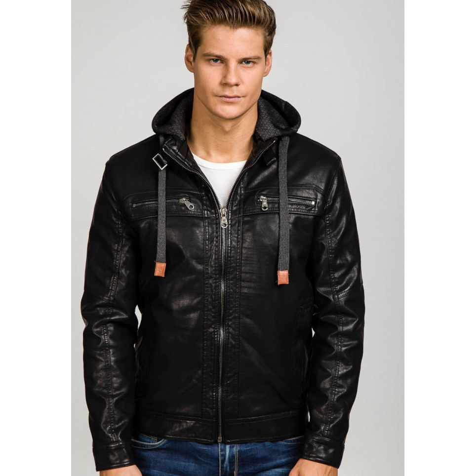 Giacca in pelle uomo LM-BF291