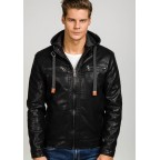 Luk Muk Men´s leather jacket LM-BF291