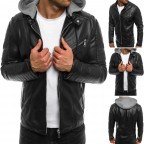 Luk Muk Men´s leather jacket LM-OZJK321