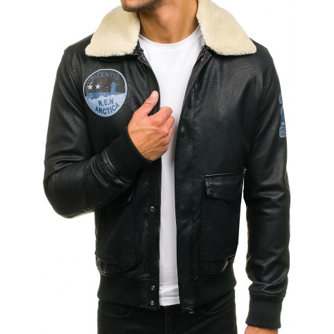 Men´s leather jacket LM-Arctica