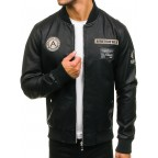 Luk Muk Men´s leather jacket LM-BF72166