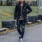 Giacca in pelle uomo MGP