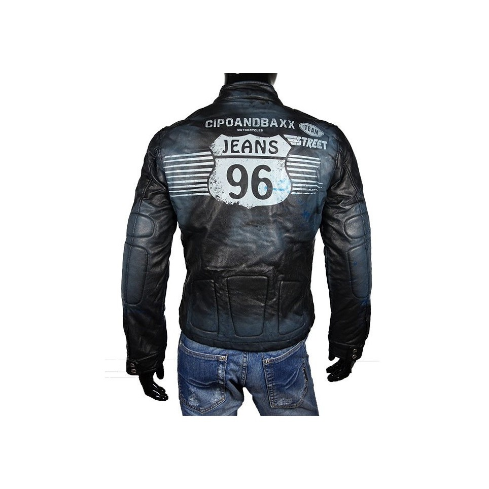 Men´s leather jacket LM-Street-Racing