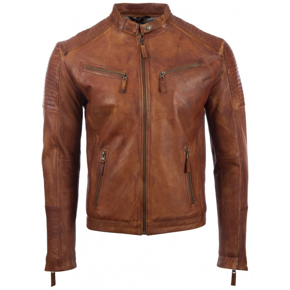 Men´s leather jacket LM-MDK1