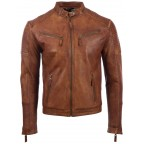 Luk Muk Men´s leather jacket LM-MDK1