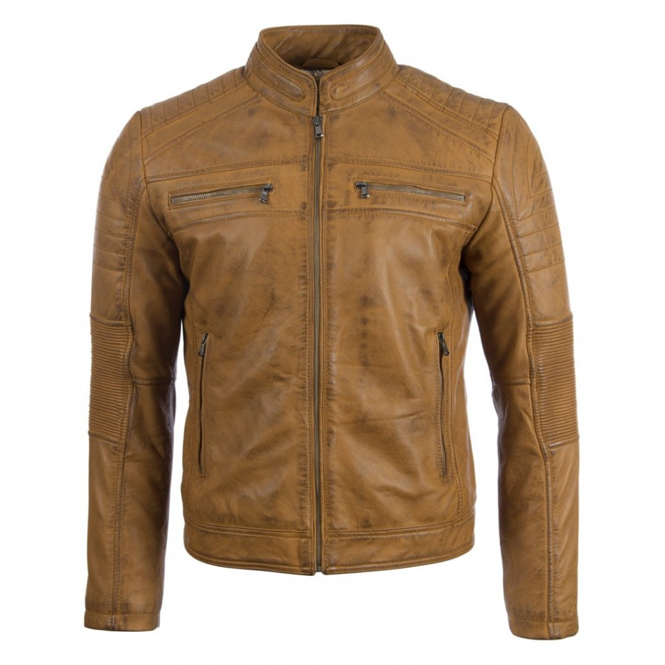 Men´s leather jacket LM-MDK2