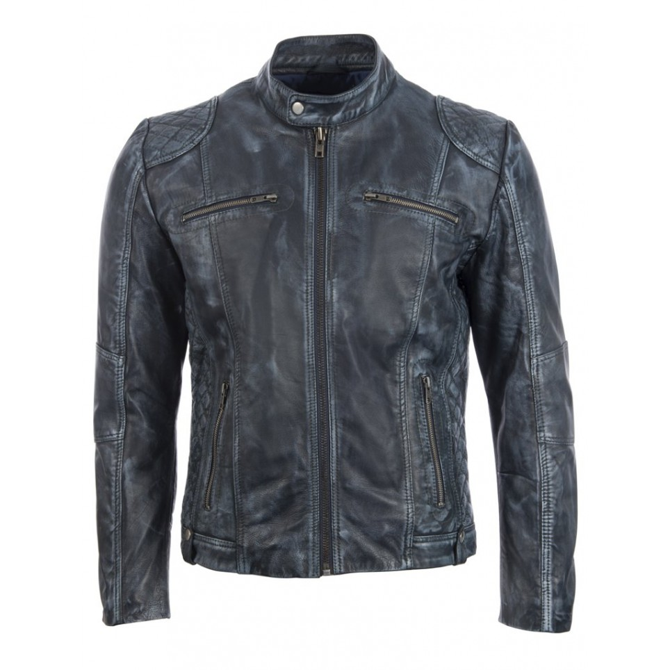 Men´s leather jacket LM-MDK3