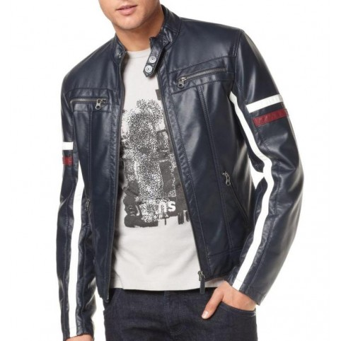 "Men's leather jacket  ""S Line"""