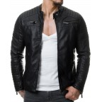 Luk Muk Men´s leather jacket LM-RB01