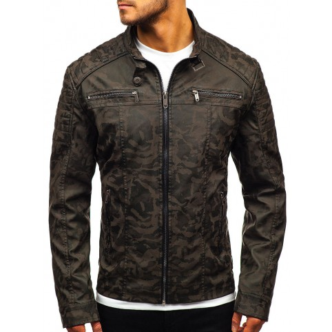 Luk Muk Men´s leather jacket LM-BF920