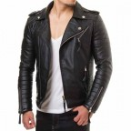 Luk Muk Men's leather jacket  MGP