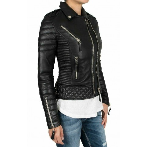 Luk Muk Woman leather jacket LM-MDK1