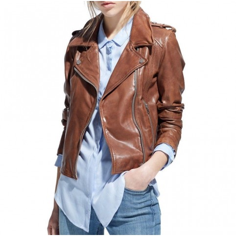 Luk Muk Woman leather jacket LM-MDK2