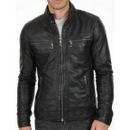 Luk Muk Men´s leather jacket F9115