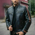Luk Muk Men´s leather jacket E278