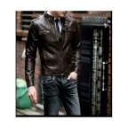 Luk Muk Men´s leather jacket LM-BF8002